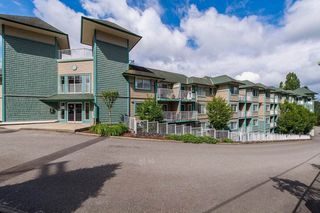 """Photo 2: 321 33960 OLD YALE Road in Abbotsford: Central Abbotsford Condo for sale in """"Old Yale Heights"""" : MLS®# R2404082"""