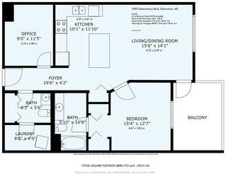 Photo 25: 410 1589 GLASTONBURY Boulevard in Edmonton: Zone 58 Condo for sale : MLS®# E4202845