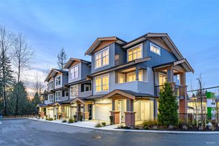 Photo 1: 4 24086 104 Avenue in Maple Ridge: Albion Townhouse for sale : MLS®# R2419547