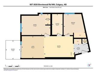 Photo 23: 607 3830 BRENTWOOD Road NW in Calgary: Brentwood Apartment for sale : MLS®# C4305620