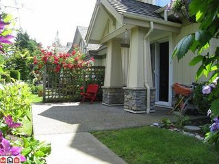 Photo 1: 39 14968 24TH Ave in South Surrey White Rock: Sunnyside Park Surrey Home for sale ()  : MLS®# F1217127