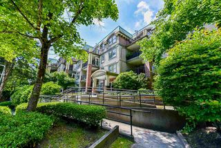 "Main Photo: 411 1591 BOOTH Avenue in Coquitlam: Maillardville Condo for sale in ""LE LAURENTIAN"" : MLS®# R2470213"