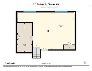 Photo 32: 315 Banister Drive: Okotoks Detached for sale : MLS®# A1050633