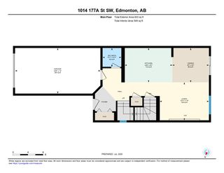 Photo 30: 1014 177A Street SW in Edmonton: Zone 56 House Half Duplex for sale : MLS®# E4204594