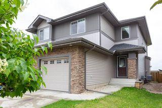 Photo 1: 1014 177A Street SW in Edmonton: Zone 56 House Half Duplex for sale : MLS®# E4204594