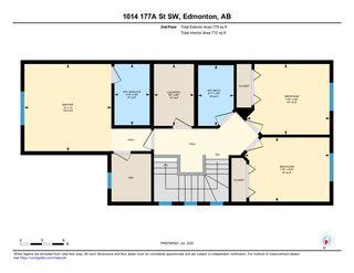 Photo 31: 1014 177A Street SW in Edmonton: Zone 56 House Half Duplex for sale : MLS®# E4204594