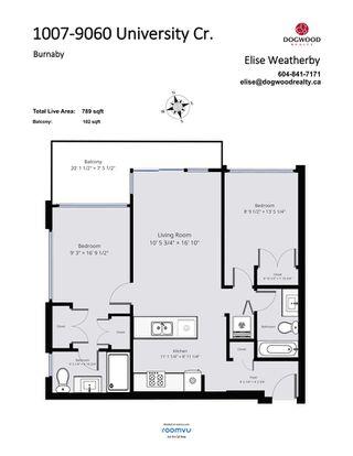 "Photo 34: 1007 9060 UNIVERSITY Crescent in Burnaby: Simon Fraser Univer. Condo for sale in ""Altitude"" (Burnaby North)  : MLS®# R2498852"