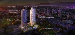 """Photo 1: 2910 6538 NELSON Avenue in Burnaby: Metrotown Condo for sale in """"NET2"""" (Burnaby South)  : MLS®# R2509932"""