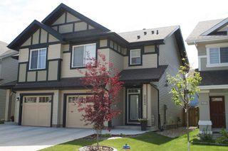 Photo 1: 2424 CASSIDY Way in Edmonton: Zone 55 House Half Duplex for sale : MLS®# E4170358
