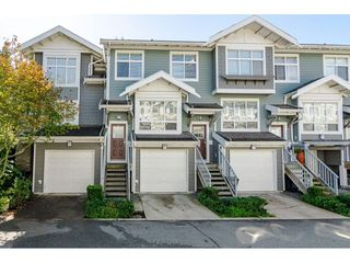 """Photo 1: 58 15168 36 Avenue in Surrey: Morgan Creek Townhouse for sale in """"The Solay"""" (South Surrey White Rock)  : MLS®# R2407745"""