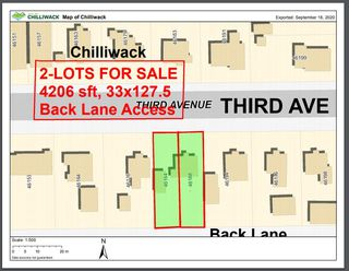 Main Photo: 46184 THIRD Avenue in Chilliwack: Chilliwack E Young-Yale Land for sale : MLS®# R2497556