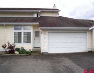 """Main Photo: 65 20761 TELEGRAPH TR in Langley: Walnut Grove Townhouse for sale in """"Woodbridge"""" : MLS®# F2603519"""