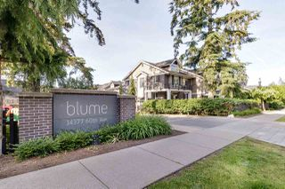 """Photo 1: 34 14377 60 Avenue in Surrey: Sullivan Station Townhouse for sale in """"BLUME"""" : MLS®# R2461233"""