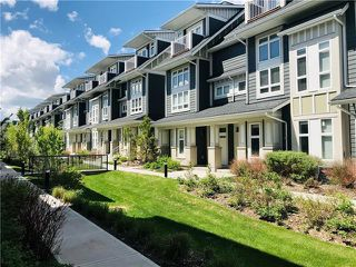 Main Photo: 293 SILVERADO PLAINS Park SW in Calgary: Silverado Row/Townhouse for sale : MLS®# C4301135