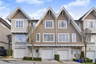 "Photo 1: 26 20560 66 Avenue in Langley: Willoughby Heights Townhouse for sale in ""Amberleigh"" : MLS®# R2433580"