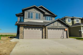 Main Photo: 7540 CREIGHTON Place in Edmonton: Zone 55 House Half Duplex for sale : MLS®# E4166365