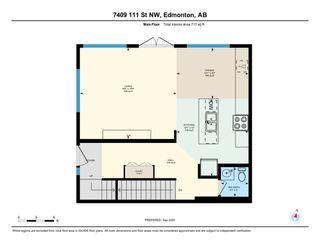 Photo 48: 7409 111 Street NW in Edmonton: Zone 15 House Half Duplex for sale : MLS®# E4215008