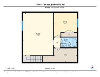 Photo 50: 7409 111 Street NW in Edmonton: Zone 15 House Half Duplex for sale : MLS®# E4215008