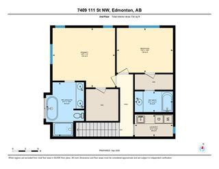 Photo 49: 7409 111 Street NW in Edmonton: Zone 15 House Half Duplex for sale : MLS®# E4215008