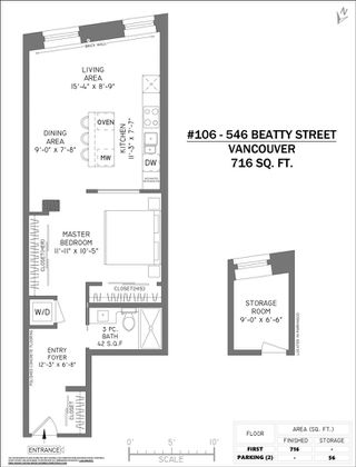 """Photo 20: 106 546 BEATTY Street in Vancouver: Downtown VW Condo for sale in """"Crane Builiding"""" (Vancouver West)  : MLS®# R2413584"""
