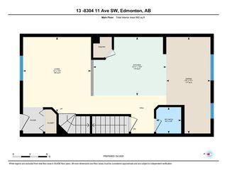 Photo 27: 13 8304 11 Avenue in Edmonton: Zone 53 Townhouse for sale : MLS®# E4217757