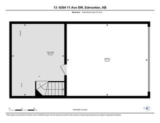 Photo 29: 13 8304 11 Avenue in Edmonton: Zone 53 Townhouse for sale : MLS®# E4217757
