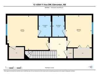 Photo 28: 13 8304 11 Avenue in Edmonton: Zone 53 Townhouse for sale : MLS®# E4217757