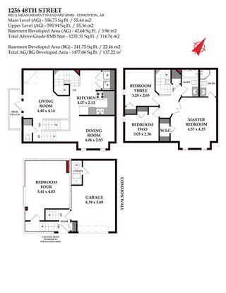 Photo 33: 1256 48 Street in Edmonton: Zone 29 Townhouse for sale : MLS®# E4190015