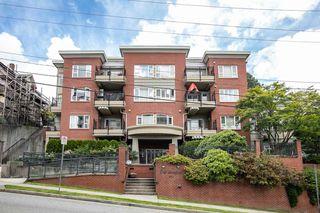 """Photo 1: 203 221 ELEVENTH Street in New Westminster: Uptown NW Condo for sale in """"THE STANDFORD"""" : MLS®# R2464759"""