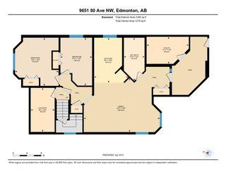 Photo 50: 9651 80 Avenue in Edmonton: Zone 17 House for sale : MLS®# E4213410