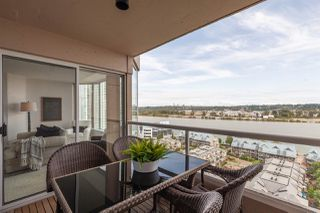 """Photo 16: 1601 1045 QUAYSIDE Drive in New Westminster: Quay Condo for sale in """"Quayside Tower I"""" : MLS®# R2404378"""