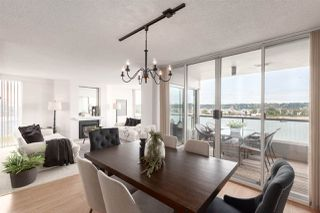 """Photo 8: 1601 1045 QUAYSIDE Drive in New Westminster: Quay Condo for sale in """"Quayside Tower I"""" : MLS®# R2404378"""