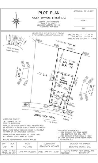 Photo 6: 12312 Grandview Drive in Edmonton: Zone 15 Vacant Lot for sale : MLS®# E4201347