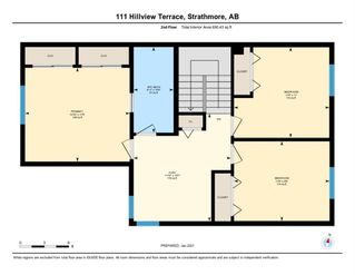 Photo 36: 111 Hillview Terrace: Strathmore Row/Townhouse for sale : MLS®# A1057950