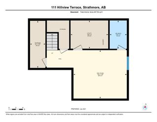 Photo 37: 111 Hillview Terrace: Strathmore Row/Townhouse for sale : MLS®# A1057950