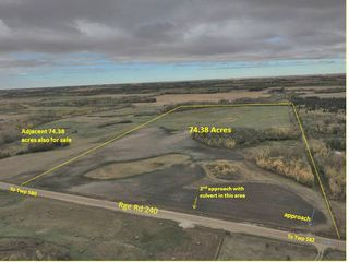 Photo 1: RR240 betw Twp 580 & 582 (north 1/2): Rural Sturgeon County Rural Land/Vacant Lot for sale : MLS®# E4216486