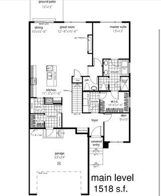Photo 2: 4613 Knight Point in Edmonton: Zone 56 House Half Duplex for sale : MLS®# E4187635