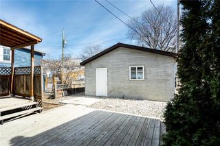 Photo 37: 199 Lipton Street in Winnipeg: Wolseley Residential for sale (5B)  : MLS®# 202008124