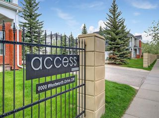 Photo 36: 601 8000 WENTWORTH Drive SW in Calgary: West Springs Row/Townhouse for sale : MLS®# C4300178