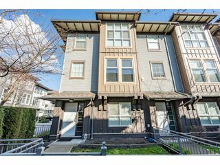 "Photo 1: 32 18777 68A Avenue in Surrey: Clayton Townhouse for sale in ""COMPASS"" (Cloverdale)  : MLS®# R2443776"