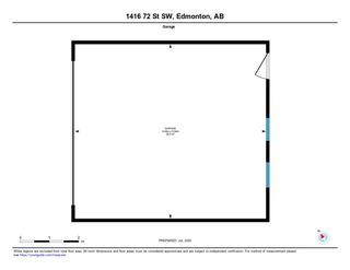 Photo 50: 1416 72 Street in Edmonton: Zone 53 House for sale : MLS®# E4205160