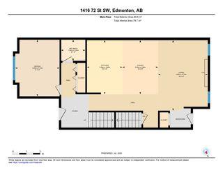 Photo 47: 1416 72 Street in Edmonton: Zone 53 House for sale : MLS®# E4205160
