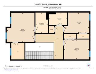 Photo 48: 1416 72 Street in Edmonton: Zone 53 House for sale : MLS®# E4205160