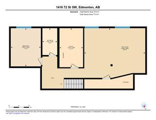 Photo 49: 1416 72 Street in Edmonton: Zone 53 House for sale : MLS®# E4205160