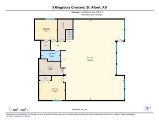 Photo 43: 3 KINGSBURY Crescent: St. Albert House for sale : MLS®# E4216611