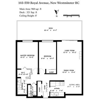"""Photo 20: 103 550 ROYAL Avenue in New Westminster: Downtown NW Condo for sale in """"HARBOURVIEW"""" : MLS®# R2408602"""