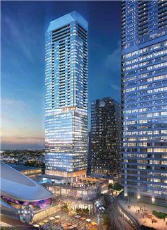 Photo 1: 4401 10360 102 Street in Edmonton: Zone 12 Condo for sale : MLS®# E4189300