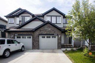 Main Photo: 2849 18A Avenue in Edmonton: Zone 30 House Half Duplex for sale : MLS®# E4202054