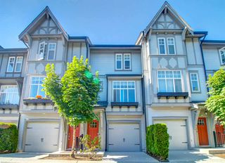 "Main Photo: 14 1320 RILEY Street in Coquitlam: Burke Mountain Townhouse for sale in ""RILEY"" : MLS®# R2485023"