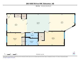 Photo 25: 206 10503 98 Avenue in Edmonton: Zone 12 Condo for sale : MLS®# E4211572